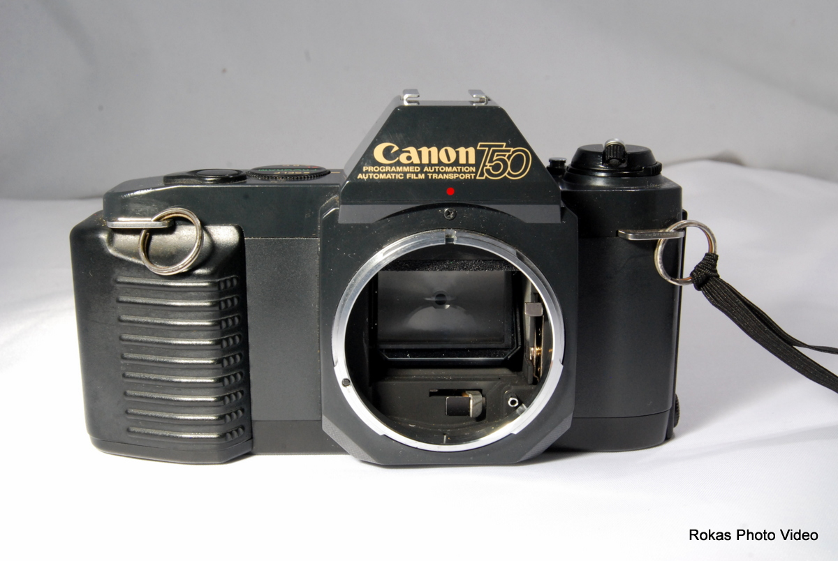 how to clean canon camera body
